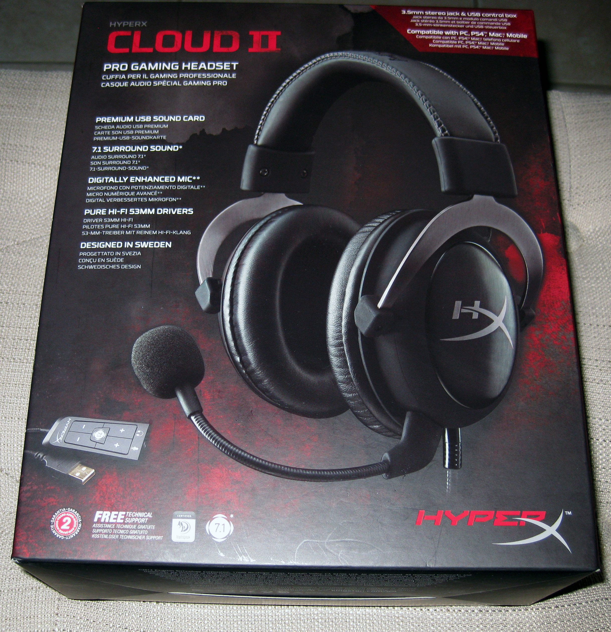 Kingston hyperx cloud ii gaming headset word cloud - The Cloud Ii Headset Itself Is High In Quality And The Metal Part Of The Headset That Connects The Earcups To The Band Does A Lot To Enhance That Feeling