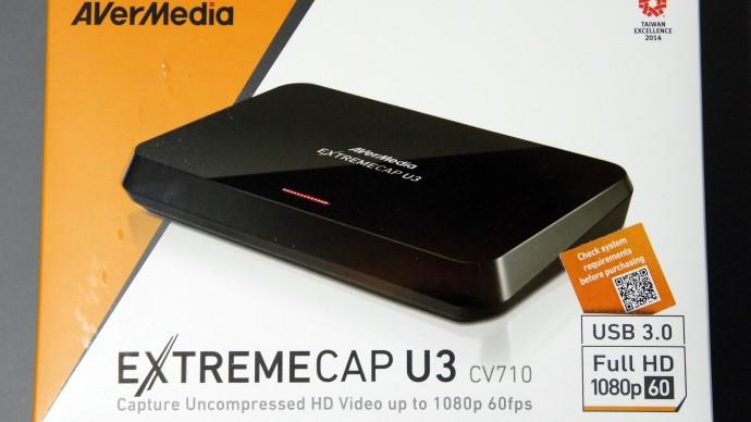 Review: AVerMedia CV710 ExtremeCap U3 Capture Card